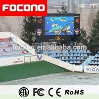 8 Years Warrany Waterproof LED Screen Display Outdoor Led Cricket Digital Scoreboard