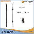 Lowes barandillas de hierro forjado de acero forjado barandilla de la escalera- 3370