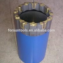 Core barrel bits with octagonal insert