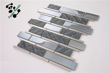 Iridescent glass mosaic tile green mirror mosaic tiles country fashion trends SMP31