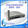 ftth optical node with 4FE+2POTS+WIFI, ftth fiber Manufacturers,wholesale 4e1 fiber optic multiplexer