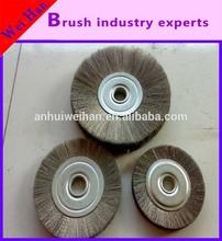 custom different size steel wire wheel brush according customer's require