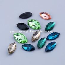 colourful crystal diamond garment accessory stone