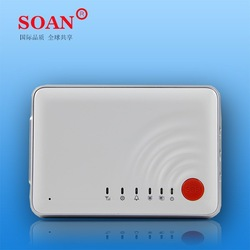 2015 good looking high quality gsm alarm system mini with global first ultrathin UV Piano bakes lacquer aluminium alloy frame