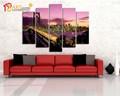 ünlü modern sanat köprü boyama ev dekorasyon için