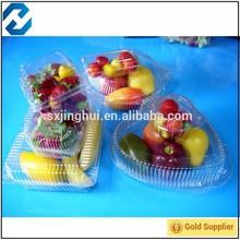 China manufacturer salad box fruit plastic container