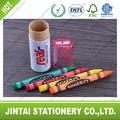 Triángulo de promoción lápiz de color en el tubo( 4pcs)