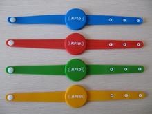 Plastic Smart ID Card Wristband Smart ID Card Wristband