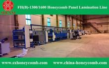 Automatic machine honeycomb cardboard line HF(B)-1600 Deluxe