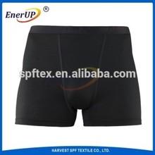2015Copper ion implantation antibacterial men boxer underwear