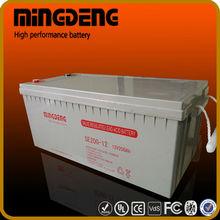 MINGDENG solar battery chargers for cars 12v 150amp trojan solar batteries battery