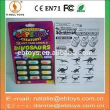 Dinosaurs amazing capsule creatures soft foam toys