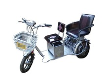 Chinese passenger 3 wheel electric tricycle with herita brand 2015 new design