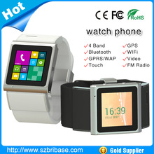 New arrival!! Bluetooth watch phone hand watch mobile phone