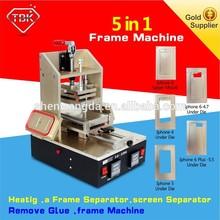 vacuum oca lamination machine Iphone Frame Laminator +Vacuum LCD Separator +Glue Remover +Preheater