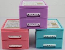 Mini Two Storeys Cabinet /plastic storage box