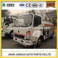2015 novo sinotruk howo 5000~25000 litros de caminhões de alumínio tanques de combustível, howo 8*4 aço de leite do tanque do caminhão para a venda