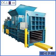 Carton baler machine horizontal hydraulic baler for waste paper