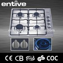 best sale 4 burner gas cooker with enamel pan support