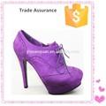 el último zapatos de tacón alto para las niñas de la moda del alto talón zapatos de la bomba 2015 las mujeres