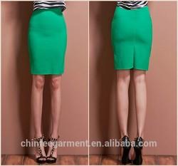 Slim Fit Wrap Skirt For Women