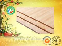 Edge glued rubber wood finger joint panel