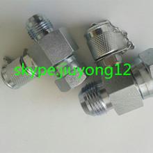 1.1/16-12UNF JIC male Xswivel female test point adaptor(37 degree cone)