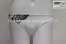 Good quality wholesale white 100 cotton women girls underwear boxers briefs boyshort