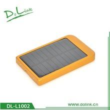 2600mah Environment Protect Save Resource Portable Solar Panel Power Bank