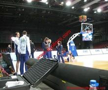 sports basketball video perimeter advertising P10mm led billboards