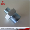 Flexible hose double socket tee with flanged branch