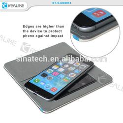 slide function 4.0 inch universal adhesive sticker case, thin wallet design 4.0inch universal adhesive sticker case