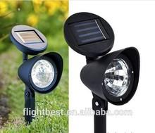 Like the shape of mushroom mini solar led lights ,Mini solar spot lawn lamp with 3 LED,solar led lamp