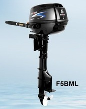 5hp 4 stroke outboard motor / long shaft / manual start / F5BML