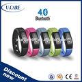 2015 impermeável bluetooth wristband pedômetro, baratos relógio bluetooth, calorias relógio pulseira
