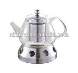 2015 NEW STYLE eco-friendly heat resistant glass teapot