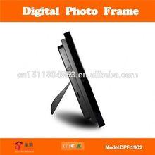19 inch 3d digital photo frame play music/movie/photo digital photo frame
