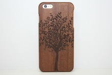 2015 New Hot Fashion Bamboo Wooden Case for iPhone 6 Plus