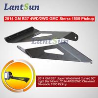 2015 factory 4WD/2WD GMC 1500 Pickup 50'' Light Bar roof Mount bracket