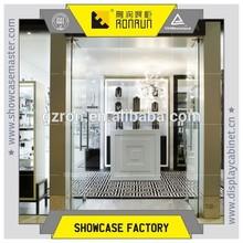 Elegance interior decoration design ,luxury gems display showroom, for shop furniture