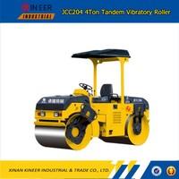 JCC204 4Ton Mechanical Drive Tandem Vibratory Roller