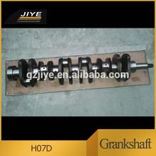 Hot sale hino engine parts H07D crankshaft