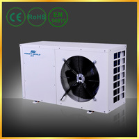 Top COP Swim Pool Small Air Source Heat Pump for European Family Use