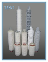 PP pleated filter cartridge for Electroplating solution