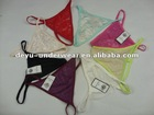 0.11USD Ladies Sexy Stock Cheap Lace France Sexy Women Wearing G Strings(kcnk025)