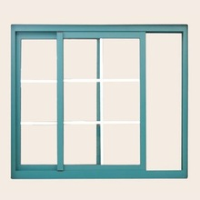 Toughened security glass aluminum sliding doors and windows pictures