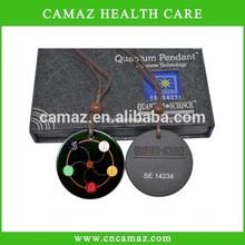 wholesale latest design & high quality Advanced Japanese Technology Black Lava quantum scalar energy pendant