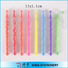 Promotional colorful plastc maze pen for kids