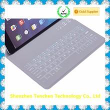 Wholesale aliexpress PU leather Bluetooth Keyboard For iPad
