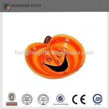 Funny halloween porcelain pumpkin dinnerware